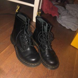 Black Dr. Martens 1460 Women's Boots size 7